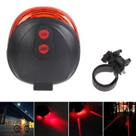 Bike Tail Safety Warning Light 1