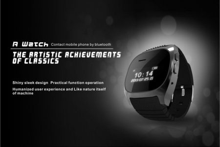 Bluetooth Smart Wrist Watch 3