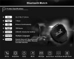 Bluetooth Smart Wrist Watch 4