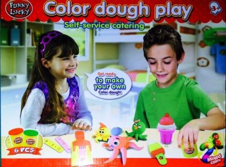 Color dough 1