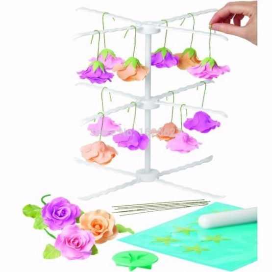 GUM PASTE FLOWER RACK