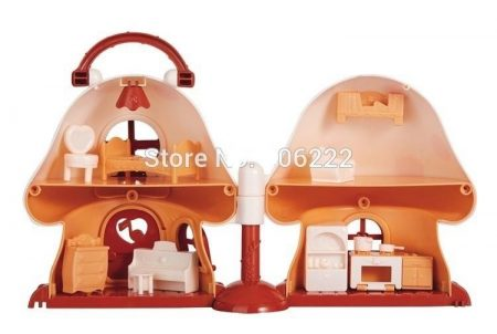Mini Mushroom Play House 1