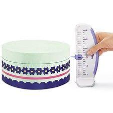 PLASTIC CAKE RULER