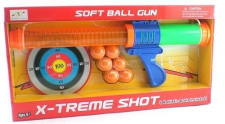 SOFT BALL GUN