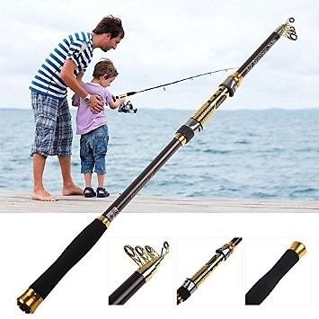 TELESCOPIC FISHING RODS 1