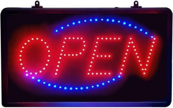 LED NEON OPEN SIGN 1
