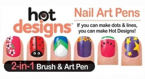Nail Art Pen Style Your Nails Like Professionals Ysl Moments