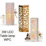 PVC WOOD-PLASTIC Lamp 1