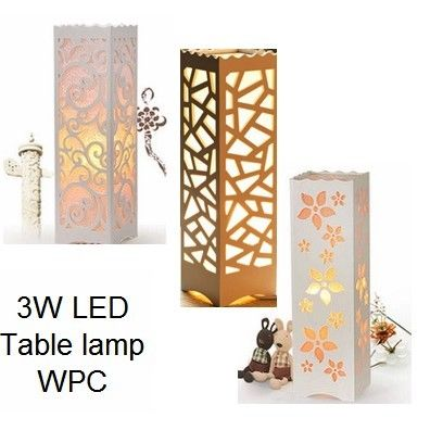 PVC WOOD-PLASTIC Lamp 1