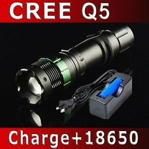 Rechargeable Torch 1