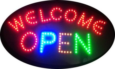 WELCOME-OPEN SIGN
