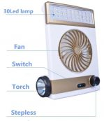 rechargeable fan 4
