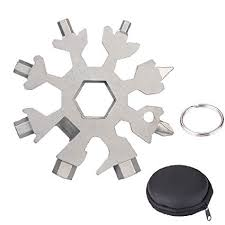18-in-1 EDC Snowflake Wrench Tool1