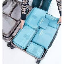 6 Piece Luggage Organizers1