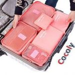 6 Piece Luggage Organizers2