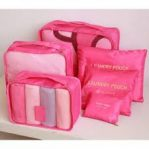 6 Piece Luggage Organizers4