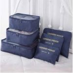 6 Piece Luggage Organizers5
