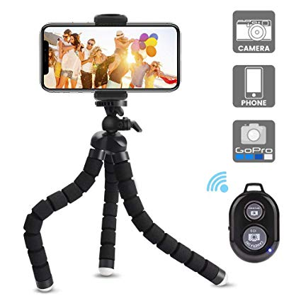 Flexible Tripod With Remote1