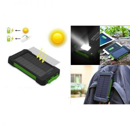 10000MAH SOLAR POWERBANK