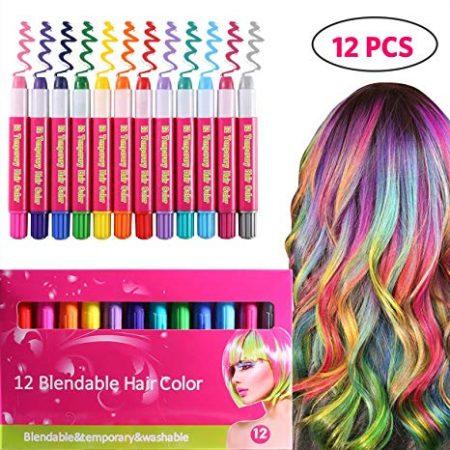 12 blendable hair color