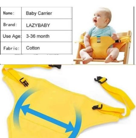 LAZY BABY CHAIR BELT