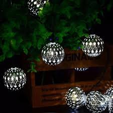 Silver Ball Fairy Lights