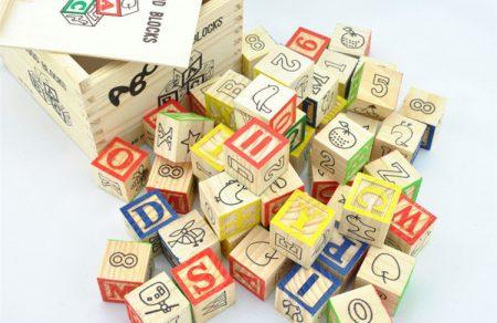 48 pcs Wooden Blocks