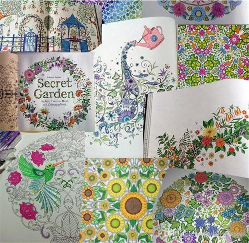 Secret Garden: An Inky Treasure Hunt And Coloring Book By Johanna Basford –  YSL Moments
