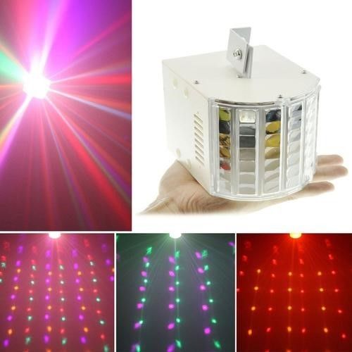 18w Sound Active Led Rgbw Dmx Ambient Stage Lighting Dj Party Show Effect Light