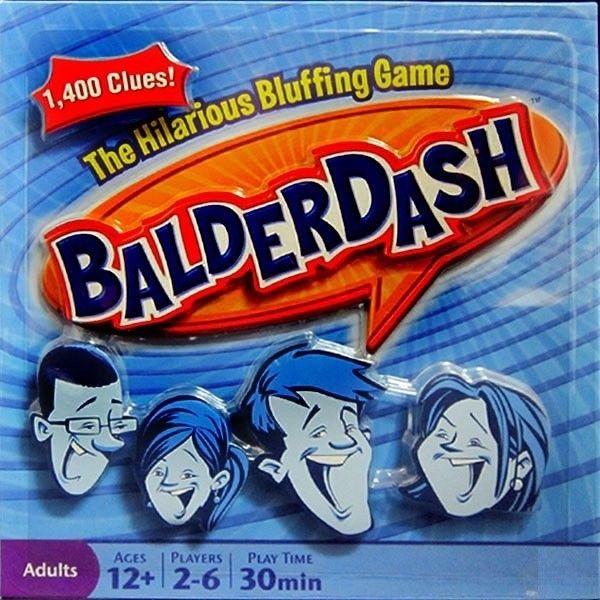 BALDERDASH - THE HILLARIOUS BLUFFING GAME