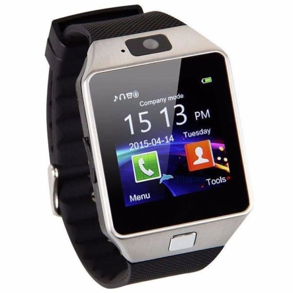 Bluetooth Smart Wrist Watch Phone With Camera Support SIM Card For Android IOS