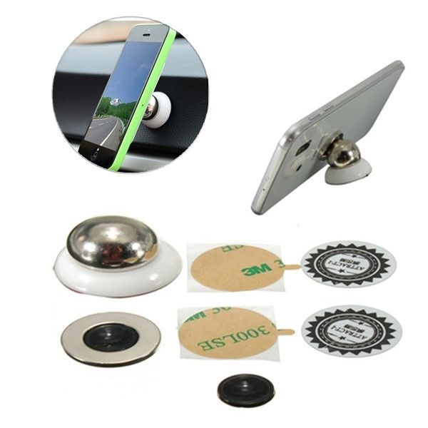 3D Magnetic Rotary Car Phone Holder Stand For Phone and GPS