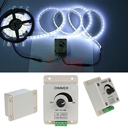 12V 8A DC Dimmer Switch Modulator Adjustable Controller for LED Light And Strip