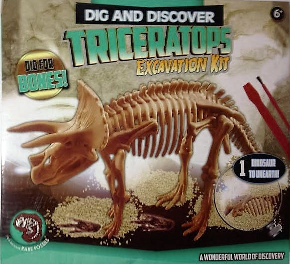 DIG AND DISCOVER DINOSAUR EXCAVATION KIT
