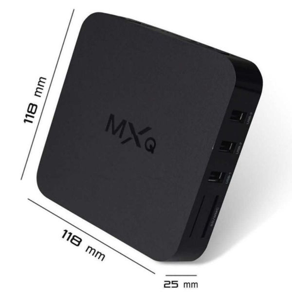 MXQ S805 Android 4 4 Quad-Core WiFi 4k 8GB XBMC KODI Smart TV Box  Multimedia Player