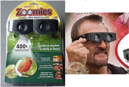 Zoomies 400 Magnification Magnifying Magnifiers Glasses Telescope Hands Free Binoculars Ysl Moments