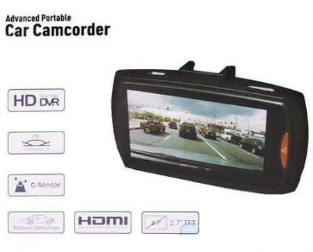2.7HD 1080P Car DVR Camera Video Recorder Dash Camcorder IR Night HDMI GSensor