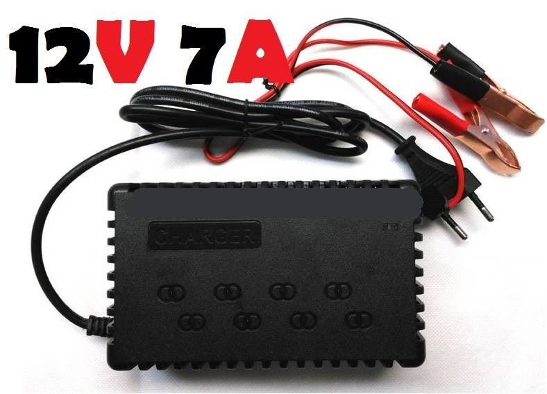 12V 7A INTELLIGENT PULSE CHARGER