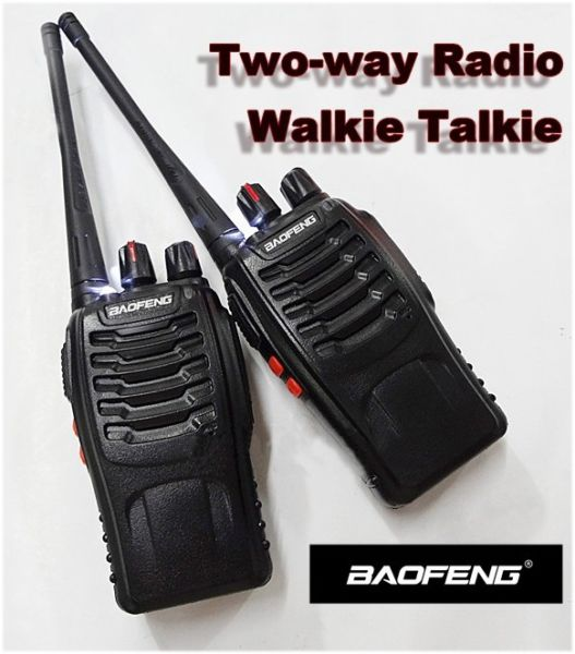 2 X Professional Two-way Radios Transceiver Handheld Interphone