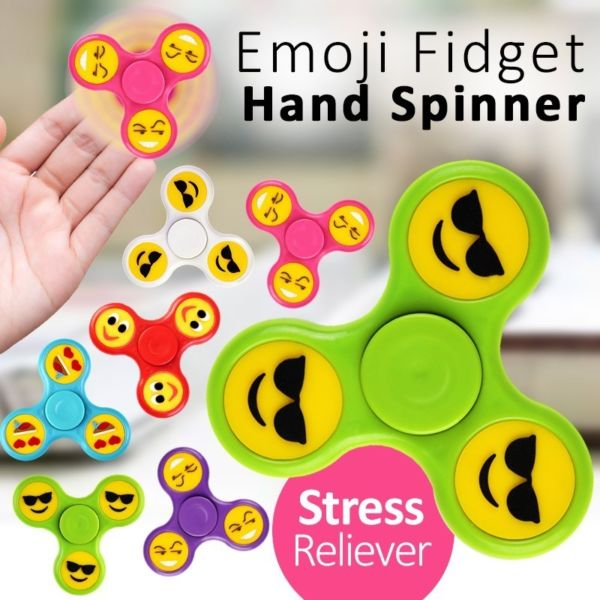 EMOJI GLOW FIDGET SPINNERS & REDUCED PRICES ON ALL OTHER FIDGET SPINNERS