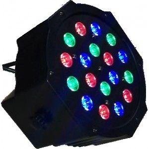 18 LED Mini Flat Par Stage Light - Brand New