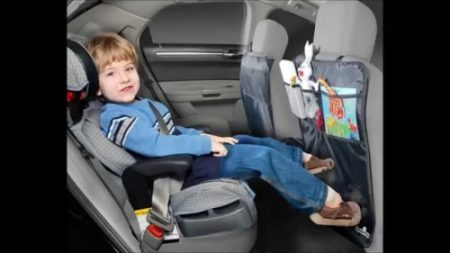 2 IN 1 KICK MAT + CAR SEAT ORGANISER - SET OF 2