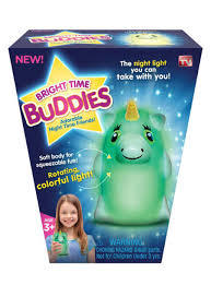 BRIGHT TIME BUDDIES ~ Unicorn : THE NIGHT LIGHT LAMP YOU CAN TAKE WITH YOU!!!