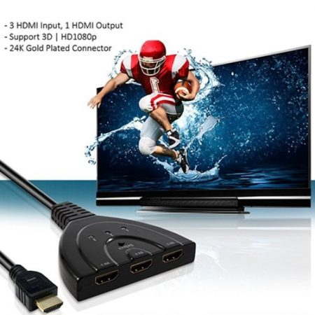 3 PORT HDMI SWITCH