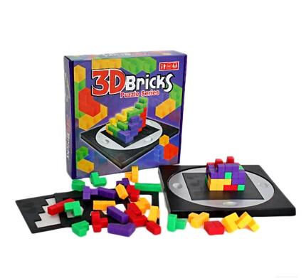 3D BRICKS PUZZLE SERIES