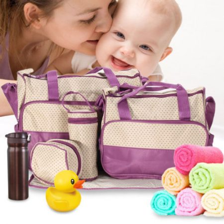 5pc/Set Baby DIAPER MUMMY Handbag SET
