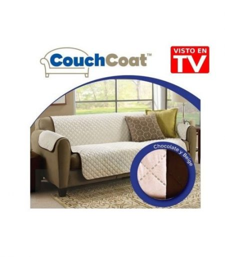 COUCH COAT - 2 SEATER REVERSIBLE SOFA COVER