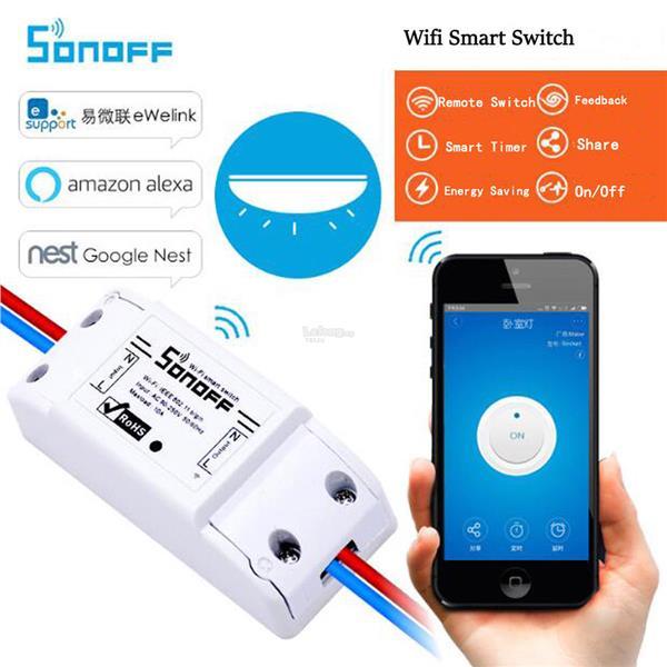 Sonoff Basic- WiFi Wireless Smart Switch