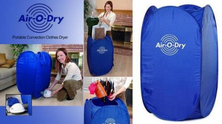 Air-O-Dry Portable Convection Clothes Dryer