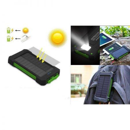 10000MAH SOLAR POWERBANK